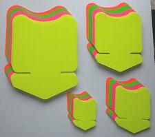 80 Pfeile in 4 Größen 4 Farben Preisschild Karton Neon Werbung deko Schaufenster
