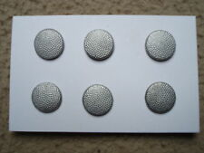 WWII German hat buttons - set