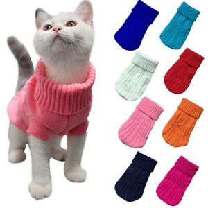 Sweater Warm Jacket Coat For Small Dogs Pet Dog Clothes Puppy Pet Cat Winter New