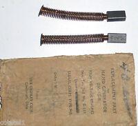 GN-45: jeu de charbon BT NOS WWII entretien génératrice à main US GN-45B - Rare