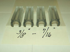 4 NO FELT CHAIR GLIDES PROTECT TILE / WOOD FLOOR METAL CHAIR GLIDES 3/8-7/16