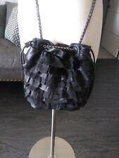 Elie Tahari Crossbody Black Leather