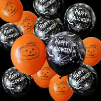 10Pcs 12 Inch Balloons Halloween Decor Inflatables Llatex Balloons Party Supply