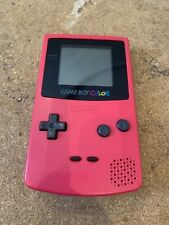 Nintendo GameBoy Color Handheld Console Red Colour