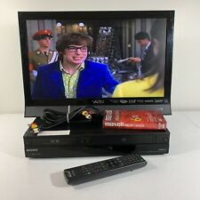 New ListingSony Rdr-Vx535 Dvd Vcr Player Recorder Combo 1080p Hdmi Remote Vhs Tape Av Cable