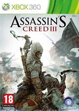 Assassins Creed III Xbox 360 NEW And Sealed, UK Version Assassin's Creed 3