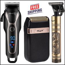 Cordless Electric Hair Clipper Men Pro Trimmer Cutting Machine Beard Haircut Kit