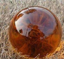 Asian Rare Quartz Amber Color Magic Crystal Healing Ball Sphere 40mm+Stand