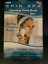 New, Unopened box, Spin Spa, Cleansing Facial Brush, As seen on TV
