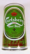 Vintage Carlsberg Lager Beer Biere Push Top Beer Can Bottom Opened Copenhagen