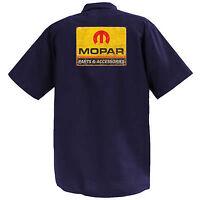 Mopar IV- Mechanics Graphic Work Shirt  Short Sleeve