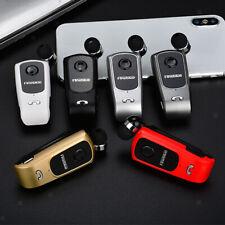Mini Bluetooth Wireless Headset Stereo Clip-on Business Earphone Earpiece