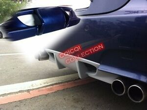 Painted DTO rear diffuser for BMW 06~10 E60 M5 Sedan All Color ◎