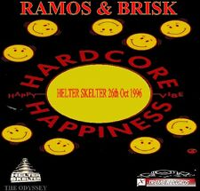 DJ RAMOS AND BRISK LIVE - CLASSIC HAPPY HARDCORE CD - 1996