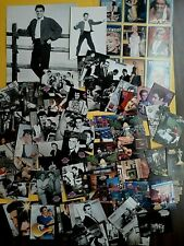 Lot of 85 Vintage Elvis Presley Trading Cards Plus 9 Marilyn Monroe Cards