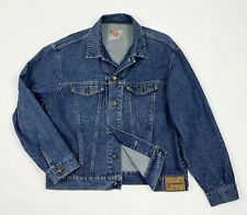 Stefanel jacket jeans uomo usato XL denim giacca bomber giubbino vintage T5346