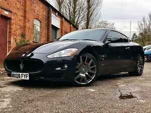 "2008 MASERATI GRANTURISMO 4.2 V8 - 20""ALLOYS, RED LEATHR, BOSE, NAV, LONG MOT"