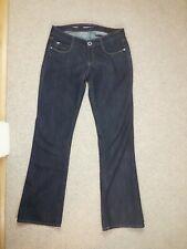 Miss Sixty Dark Blue Jeans Size 29 32L bootcut