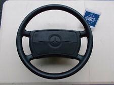 1990 Mercedes R129 300SL 500SL BLACK Leather Steering Wheel 400mm 227R129