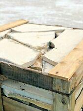 3-3,6cm mediterrane Polygonalplatten crema 15m²