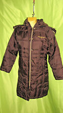 Baby Phat TUNIC DOWN FILLED Puffer COAT Long  WITH Hood Size M