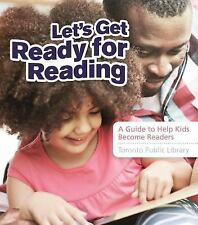 LET'S GET READY FOR READING - TORONTO PUBLIC LIBRARY (COR) - NEW PAPERBACK BOOK