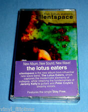 PHILIPPINES:THE LOTUS EATERS - Silent Space,TAPE,Cassette,RARE,VHTF,Sticker,