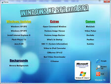 Service Packs 2 & SP3 for Windows XP - More & Must Have Apps - New Version 8.0
