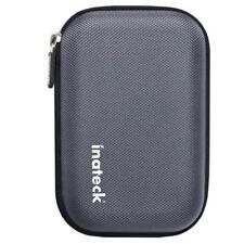 Inateck Universal Festplattentasche für 2,5 Zoll [Erschütterungsfest], Grau