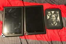 Barnes & Noble 2 Nook HD+ Wi-Fi, 9in - Slate And 1 Simple Touch Tablet Lot