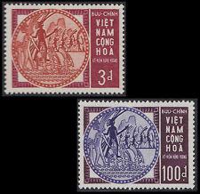 VIETNAM du SUD N°254/255** Hung Vuon, 1965 South Viet Nam #251-252 Mythology MNH