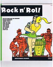 LP ROCK N'ROLL (COMPILATION EN PISTE) J.L.LEWIS V.TAYLOR F.DOMINO H.WILLIAMS