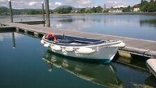 Fishing boat,clinker,diesel,inboard,open,boat,fiberglass,ferry,19 foot,launch