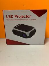 Grtsunsea Mini Projector Portable 1080P LED Projector Home Cinema Theater Indoor