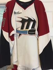 2008-09 Ahl Wcha Ohl Nigel Williams Lake Erie Monsters Game Worn Hockey Jersey