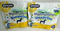2-PACK Breyer MYSTERY HORSE SURPRISE STABLEMATES Sealed Blind Bags NEW 6039