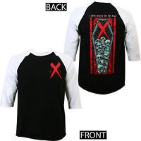 Authentic CARNIFEX Band Don't Mourn Raglan Baseball T-Shirt S M L XL 2XL NEW
