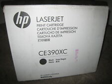 HP CE390X Black Toner Cartridge Genuine OEM 90X LaserJet M4555 mfp