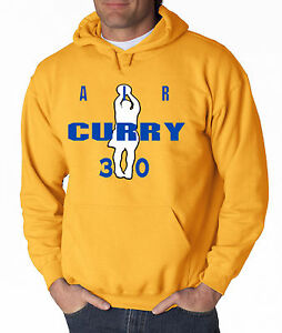 """Steph Curry Golden State Warriors """"Air Curry"""" jersey SWEATSHIRT HOODIE"""