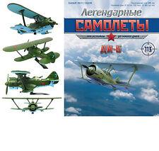 Soviet Russian DI 6 Fighter Biplane  + magazine !