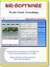 WR-Software  -  Werbe Truck-Verwaltung für Sammler