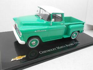 COCHE CHEVROLET MARTA ROCHA 1956 METAL MODEL CAR 1/43 1:43 SALVAT MINIATURE
