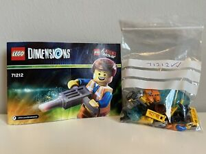 LEGO Dimensions The Lego Movie Emmet Fun Pack (71212) 100% Checked & Complete!!