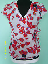 New Look Floral Wrap Tops for Women