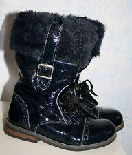 df780e2c67bb82 Ƹ̵̡Ӝ̵̨̄Ʒ Lille Smuk Mädchen Lackstiefel Stiefel Lack Blau gefüttert Gr 30