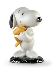 New Lladro Snoopy Figurine #9490 Brand Nib Peanuts Woodstock Cute Save$ F/Sh