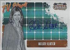 2008 Americana 11 TV Stars Autograph Card - TS-HS Helen Slater 047/100 Supergirl