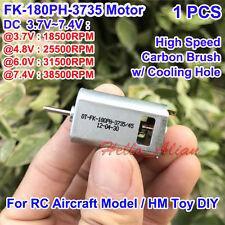 DC 3.7V 4.8V 7.4V 38500RPM High Speed FK-180PH HM Motor For RC Toy Car Boat DIY