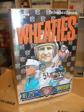 Full Sealed Unopened  Wheaties NFL 75th Anniversary Collectors Edition Box Baugh