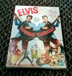 "ELVIS PRESLEY - ""DOUBLE TROUBLE"" DVD - NEW & SEALED UK REGION 2 RELEASE - RARE"